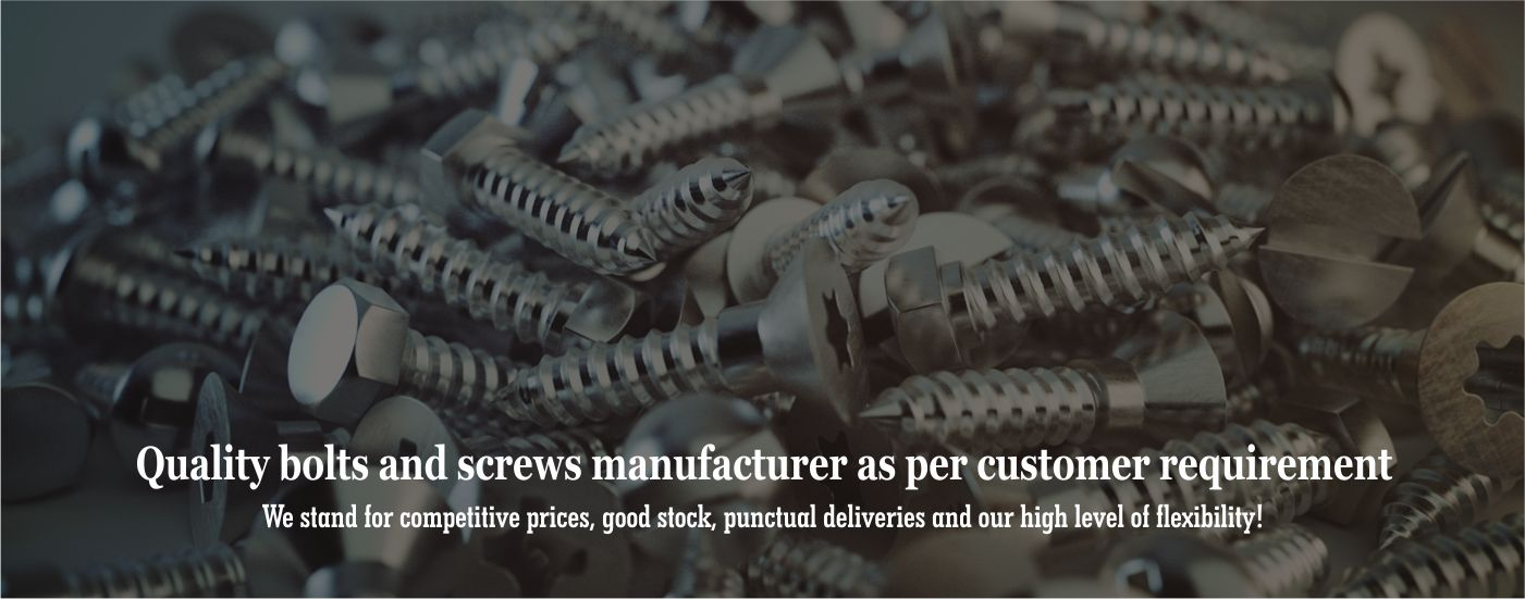 Bolts and screws manufacturers